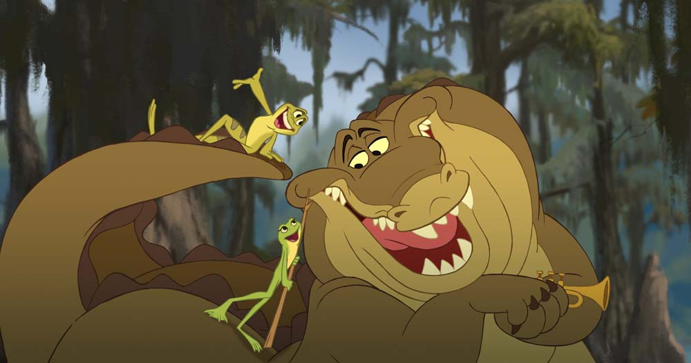 sanaa muzian. princess and the frog