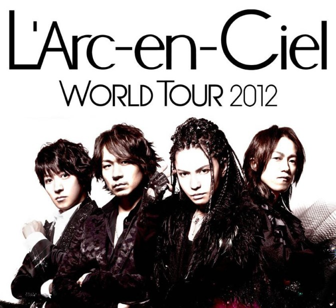 Finally, The Rainbow Has Come | L'Arc~en~Ciel 20th Anniversary World Tour – Jakarta, May 2nd 2012