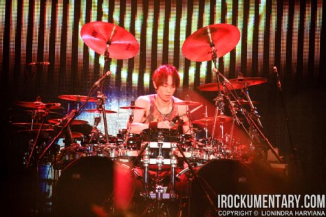 Yukihiro, the man who speaks louder with drums | Source: irockumentary.com