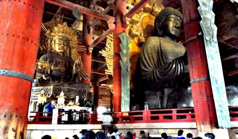 Buddha statue, Todaiji temple