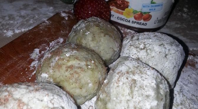 [DESSERT] Homemade Ice Cream Mochi Delights