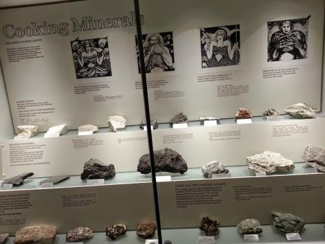 Aussie Museum - cooking minerals