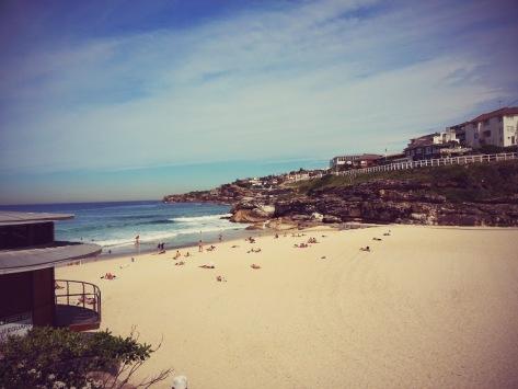 Beach - Tamarama side