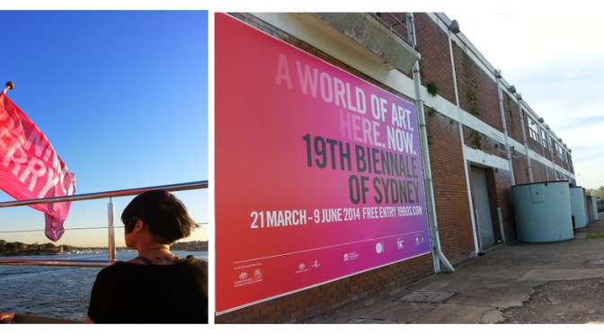 The Art Getaway: Sydney Biennale 2014 #AussieTrip (part 2)