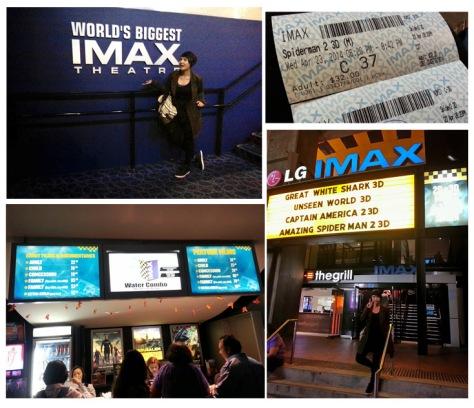 IMAX combo