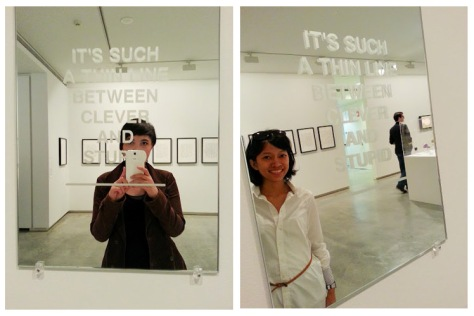 MCA - artwork mirror