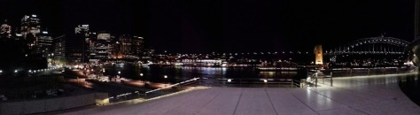 Sydney Opera - city lights